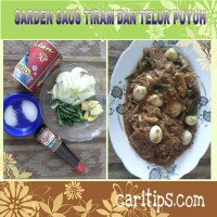 Sarden Saus Tiram dan Telur Puyuh