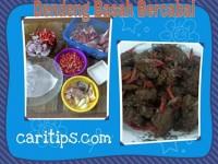 Resep Dendeng Basah Bercabai